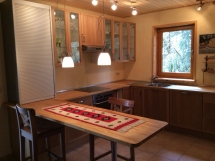 Bartisch in der Küche