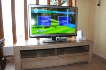 TV mit Wii-Spielekonsole