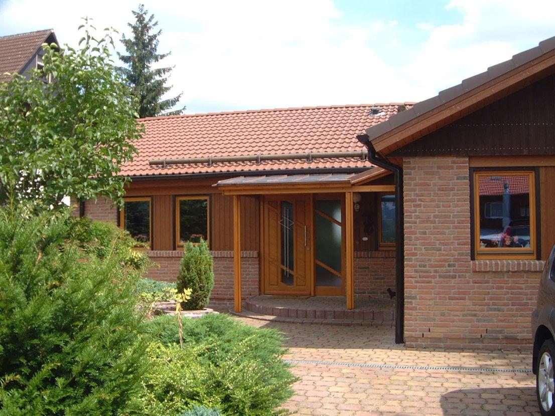 Der Eingang zum Ferienhaus